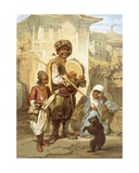 Bohemians, 1865 Giclee Print by Amadeo Preziosi