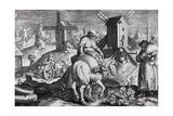 Windmills, Plate 12 from 'Nova Reperta', Engraved by Philip Galle, C.1580-1605 Giclee Print by Jan van der Straet