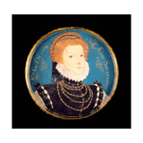 Portrait of a Woman, 1576 Giclee Print by Nicholas Hilliard