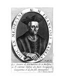 Francois Rabelais Giclee Print by Michel Lasne