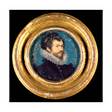 Self Portrait, 1577 Giclee Print by Nicholas Hilliard
