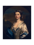 Frances West, 1742 Giclee Print by Joseph Highmore