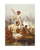 Boatmen, 1865 Giclee Print by Amadeo Preziosi