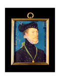 Portrait of an Unknown Man, Aged 24, 1572 Giclee Print by Nicholas Hilliard