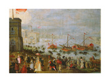 A Fete in Venice Giclee Print by Paolo Fiammingo