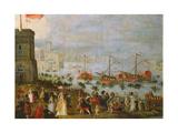 A Fete in Venice Giclee Print by Paolo Fiammingo