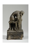 Maquette for the Figure of Grief Giclee Print by William Hamo Thornycroft