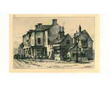Old Buildings Walsall (Called Town's End Bank) from 'Remnants of Old Wolverhampton' Vol.I. No.S… Giclee Print by John Fullwood