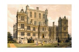 Wollaton Hall, Nottinghamshire, 1600, Illustration from 'Architecture of the Middle Ages', 1838 Giclee Print by Joseph Nash
