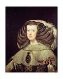 Queen Mariana of Austria Giclee Print by Diego Rodriguez de Silva y Velazquez