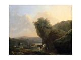 Landscape with Cattle, C.1767 Giclee Print by Philip James De Loutherbourg