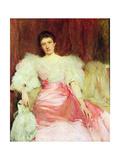 Mrs John Mulhall Giclee Print by Walter Frederick Osborne
