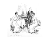A Note for Miss. Bennet', Illustration from 'Pride and Prejudice' by Jane Austen, Edition… Giclee Print by Hugh Thomson