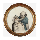 Skilful Barber, 1823 Giclee Print by Louis Leopold Boilly