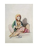 A Jewish Woman Giclee Print by Amadeo Preziosi