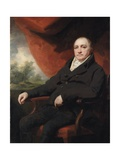Portrait of a Gentleman, Traditionally Identified as Dr. Black or Dr. Blake Giclee Print by Sir Henry Raeburn