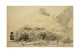 Kashmirian Village, 1837 Giclee Print by Godfrey Thomas Vigne