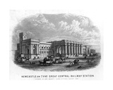 Newcastle-Upon-Tyne Great Central Railway Station Giclee Print