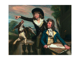 The Western Brothers, 1783 Giclee Print by John Singleton Copley