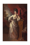 Penelope (Pitt), Viscountess Ligonier, 1770 Giclee Print by Thomas Gainsborough
