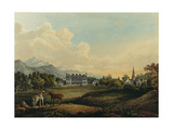 Views in Killarney: Lord Kenmare's House Giclee Print by Thomas Gage