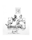 Mr and Mrs Bennet, Illustration from 'Pride and Prejudice' by Jane Austen, Edition Published in… Giclee Print by Hugh Thomson