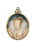Miniature of an Unknown Lady Giclee Print by Nicholas Hilliard