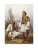 Albanians, 1865 Giclee Print by Amadeo Preziosi