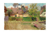 In an English Village Giclee Print by Walter Frederick Osborne