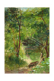 Stream in a Wood, 1883 Giclee Print by Walter Frederick Osborne