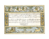 The Hunt Is Up and it Is Well Nigh Day and Harry Our King Is Gone Hunting', Song Illustration… Giclee Print by Walter Crane