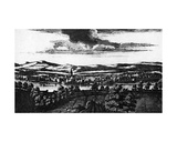 The Prospect of Ye Town of Perth, from 'Theatrum Scotiae' by John Slezer, Published 1693 Giclee Print by John Slezer