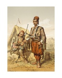 Croatian Guards, 1865 Giclee Print by Amadeo Preziosi