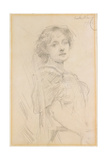 Maud Gonne, 1895 Giclee Print by Walter Frederick Osborne