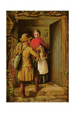 The Poacher, 1860 Giclee Print by John Whittaker