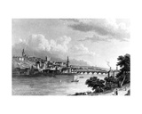 Newcastle from Askew's Wood, Engraved by Edward Francis, 1829 Giclee Print by William Westall