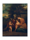 Holy Family Giclee Print by Sir Joshua Reynolds