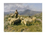 Shepherd of the Pyrenees, 1888 Giclee Print by Rosa Bonheur