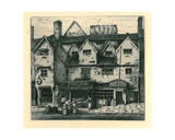 Old Houses, Digbeth, Walsall, from 'Remnants of Old Wolverhampton' Vol.I. No.S 1-37, Published 1880 Giclee Print by John Fullwood