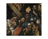 Christ Carrying the Cross, C.1510-16 Giclée-Druck von Hieronymus Bosch