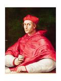 Portrait of Cardinal Dovizi De Bibbiena Reproduction procédé giclée par  Raphael