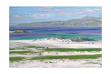 Iona Sound and Ben More Giclee Print by Francis Campbell Boileau Cadell