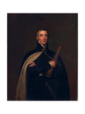 Arthur Wellesley, Duke of Wellington, with a Telescope Giclée-tryk af Thomas Lawrence