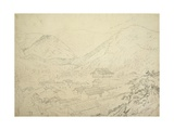 At Foot of Chu Mountains Near Simila, Himachal Pradesh, C.1836 Giclee Print by Godfrey Thomas Vigne