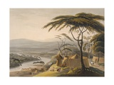 The Town of Leetakoo, 1804-05 Giclee Print by Samuel Daniell