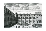 Palace of Falkland, from 'Theatrum Scotiae' by John Slezer, Published 1693 Giclee Print by John Slezer