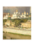 Cathedrals of the Moscow Kremlin, 1894 Giclee Print by Apollinari Mikhailovich Vasnetsov