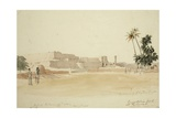 Runjeet Sing's Fort at Peshawar, 1836 Giclee Print by Godfrey Thomas Vigne