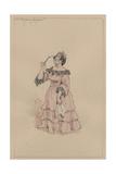Mrs Bayham Badger, C.1920s Lámina giclée por Joseph Clayton Clarke