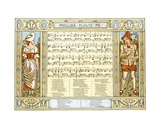 Phillida Flouts Me, O What a Plague Is Love, Song Illustration from 'Pan-Pipes', a Book of Old… Giclee Print by Walter Crane